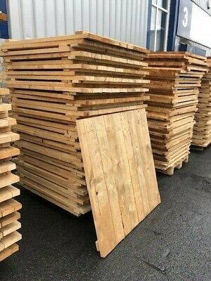 Used Timber Decking With Closed Boards For Pallet Decking 1100Mm X 1100Mm X 35Mm