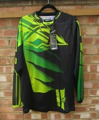 "Fly Racing Kinetic Mesh Jersey Shirt Motocross Off Road Moto Dirt XL 44""/46"" New"