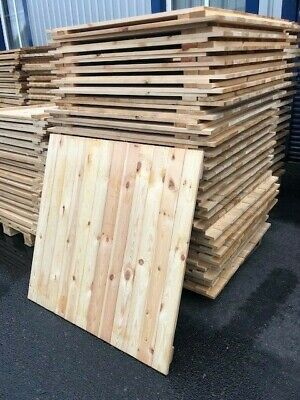 Used Timber Decking With Closed Boards For Pallet Decking 1100Mm X 1200Mm X 25Mm
