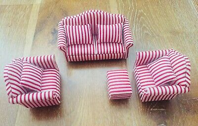 Pleasing Dolls House Furniture 1 12 Scale Artisan Sofa And Onthecornerstone Fun Painted Chair Ideas Images Onthecornerstoneorg