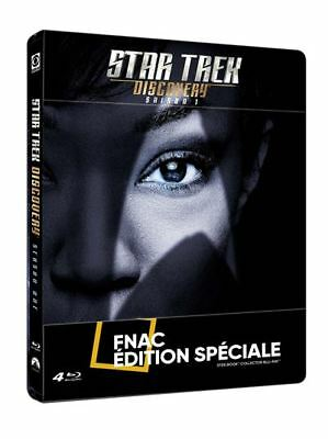 STAR TREK   Discovery Saison 1 Steelbook Edition Fnac Blu-ray NEUF SOUS BLISTER