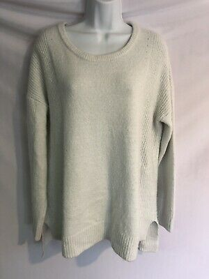 Isabel Maternity Sweater Cream Size Large Womens Warm L Knit Top