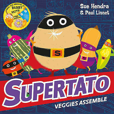 Supertato Veggies Assemble By Sue Hendra NEW (Paperback) Childrens Book