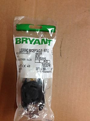 Bryant 70530FR locking receptacle