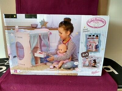 Baby Annabell Sweet Dreams 2 in 1 Wardrobe Changing Table Zapf Creations. BNIB.