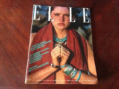 ELLE FRANCE Rivista Magazine 20 Giugno 1977 n.1641 Shelley Duvall