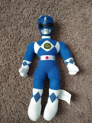 Mighty morphin power rangers 1993 Saban 10 inch Blue Power Ranger Plush