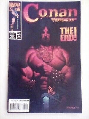 Marvel Comics Conan The Barbarian #275 FINAL ISSUE VERY FINE CONDITION