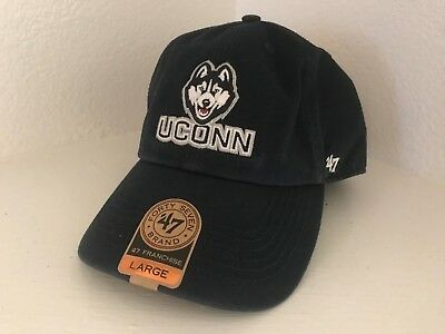 online store af06f cacbe Forty Seven Brand  47 Franchise NCAA UCONN Huskies Fitted Cap Hat Large NWT