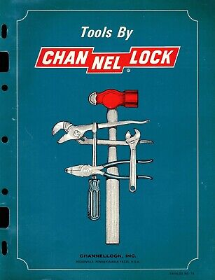 "Vintage 80's Collectible 24 Page ""CHANNELLOCK"" Product Guide"