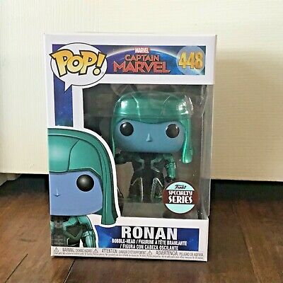 Funko Pop Exclusive Ronan Captain Marvel Movie Figure New 448 Lee Pace
