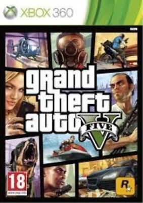 Xbox-Grand Theft Auto GTA V (Five 5) Game XBOX 360 (PAL) GAME NEUF
