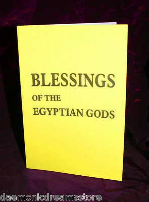 BLESSINGS OF THE EGYPTIAN GODS Finbarr. Occultism. Witchcraft. Magic. Magick