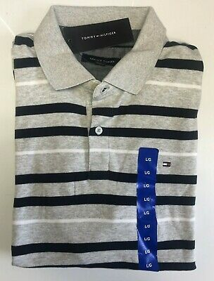 9bafe790 Tommy Hilfiger Core Knitted Pique Short Sleeve Polo Shirt - Size: Large ...
