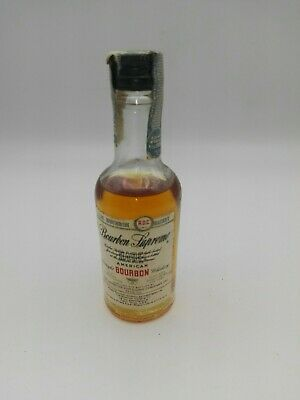 Miniature mignon minibottle Whisky Bourbon Supreme