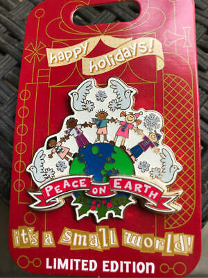 Disneyland  2018  It's A Small World Holidays  Peace on Earth  Pin  LE 3000 NEW