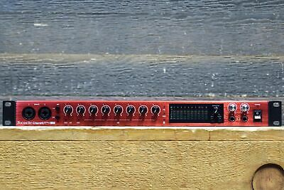 Focusrite Clarett 8Pre USB 18-In / 20-Out USB Audio Interface for PC and Mac