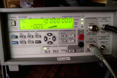 Agilent 53148A counter-power meter with 8485A sensor