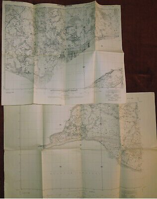 O.S. 2nd PROVISIONAL ED. GSGS 3906 1:25000 MAPS SHEETS 47/10 NW/SW & ALL 47/12