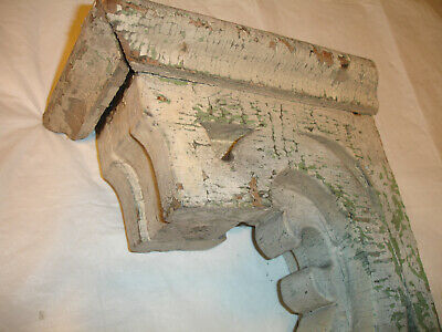 Architectural Salvage Victorian Style Wood Porch Corbel Bracket Old Shabby Chic