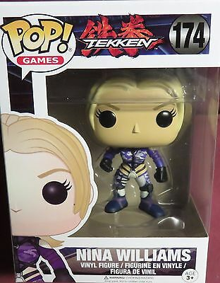 "Brand New Pop Games, ""From Tekken"", Nina Willaims, Four Inch Figure #174"