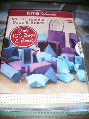 Brother Scan N Cut USB Kit N Caboodle Vol 3 Essential Bags & Boxes