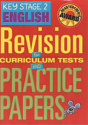 Key Stage 2 English Revision for Curriculum Tests and Practice Papers NEW Book