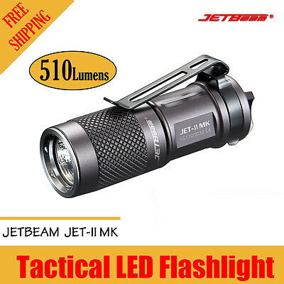 Jetbeam JET-II MK 510Lumens Cree XP-L HI LED 4Modes CR123 A Small EDC Flashlight