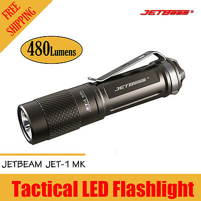 JETbeam JET-1 MK 1MK Cree XP-G2 480 Lumens Mini Portable Waterproof Flashlight