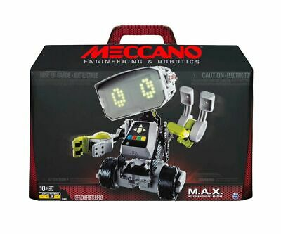Meccano M.A.X. Robotic Interactive Toy with Artificial Intelligence