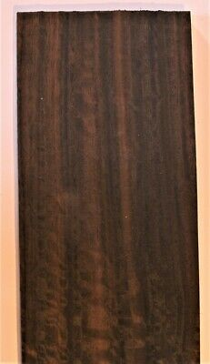 Fumed Eucalyptus Raw Wood Unbacked Veneer  33.5 x 5.5 inches          4706-01