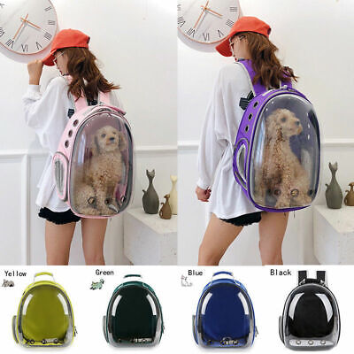 Pet Dog Cat Astronaut Backpack Space Capsule Breathable Outdoor Carrier Bag 2019