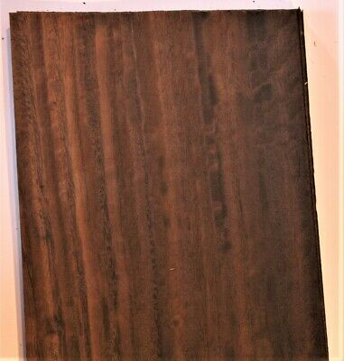 Fumed Eucalyptus Raw Wood Unbacked Veneer  25 x 6.5 inches          4706-02