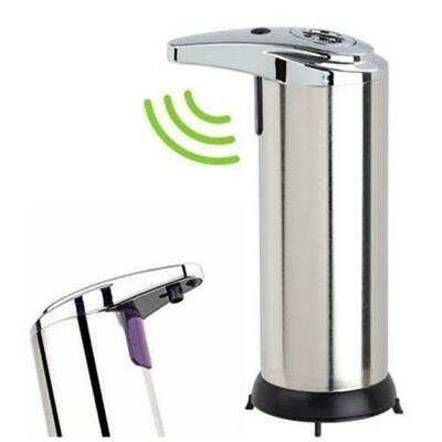 Automatic Soap Liquid Dispenser Stainless Steel Hands Free IR Sensor Touchles FT