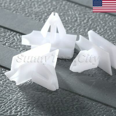 US 50Pcs Rocker Panel Moulding Clips Retainers Fasteners for Cadillac CTS 2012