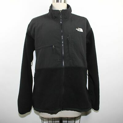 1442177bb514 THE NORTH FACE Men s Denali Fleece Jacket Black   Gray Size Large ...