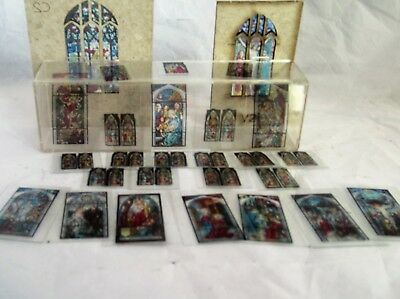 Metcalfe Parish Church OO Gauge Kit PO226 - Full Set of Stained Glass Windows