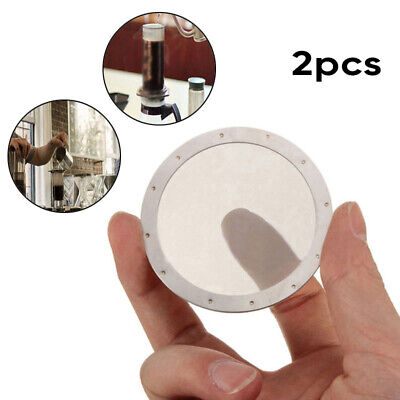 2 X Coffee Filter Reusable Stainless Steel 250 Mesh For Aeropress Coffee Maker