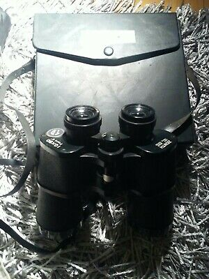 Vintage Zenith Light Weight 10 x 50 Field 5 Binoculars w/ Case - Japan Very Nice