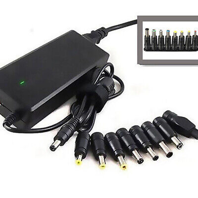 Universal 5521 Female To 8 In 1 AC DC Power Charger Converter Adapter For Laptop