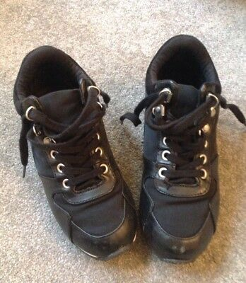 Kids Black Marks And Spencer Casual  Boots/Shoes - Size UK 1