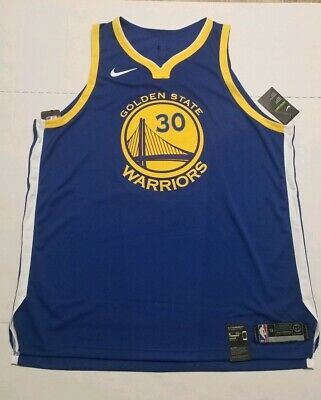 fe19eb908b75 NIKE Stephen Curry ICON WARRIORS AUTHENTIC JERSEY MEN S SZ 3XL 58 NEW  863022 495