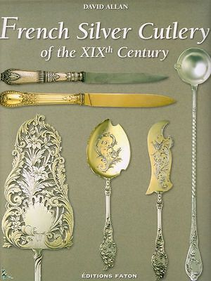 French Silver Cutlery of 19th century book in English