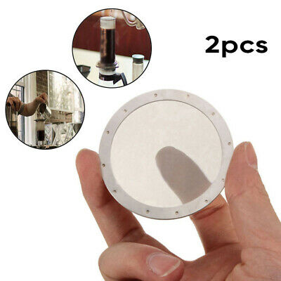 2PC Coffee Filter Reusable Stainless Steel 250Mesh For Aeropress Coffee Maker