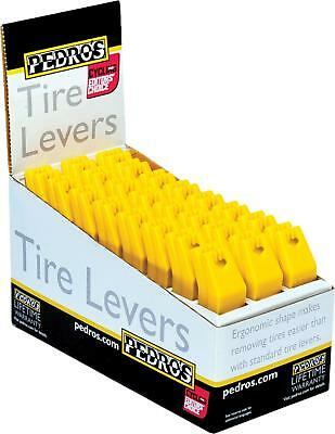 Pedro S Tire Levers Yellow Counter 24/Pack 6400099
