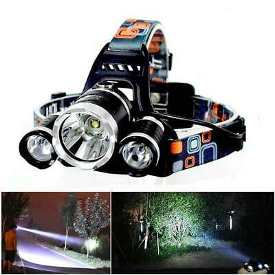 90000LM XM-L T6 + XPE LED Headlamp Head Light Flashlight Head Torch Fishing