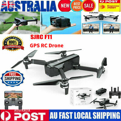 AU SJRC F11 1080P 5G HD Wide-angle Camera GPS RC Drone Foldable RC Quadcopter