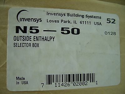 Invensys / Tac-Schneider - Outside Enthalpy Selector Box Enclosure N5-50 New