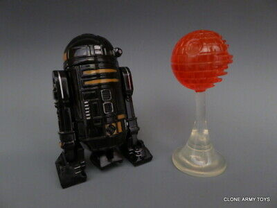 STAR WARS R2-Q5 Imperial Astromech Droid POWER OF THE JEDI COLLECTION POTJ LOOSE