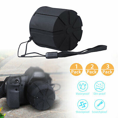 Lens Cap Universal Silicone Fists DSLR 60-110mm Lenses Protective Scratch Proof